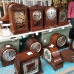 Old Clocks in Portobello Road Market