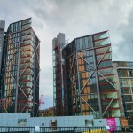 New buildings next to Tate Modern