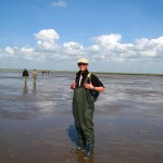 Me in waders.